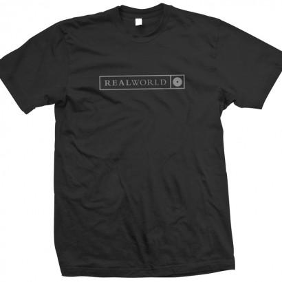 Black Real World T-Shirt