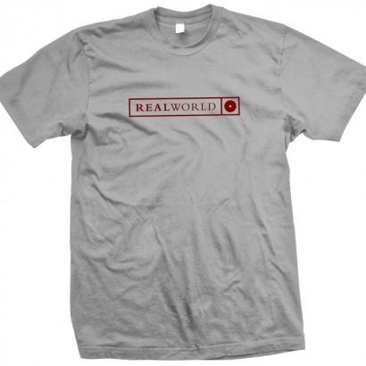 Grey Real World T-Shirt