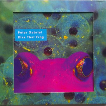 Kiss That Frog CD ltd front
