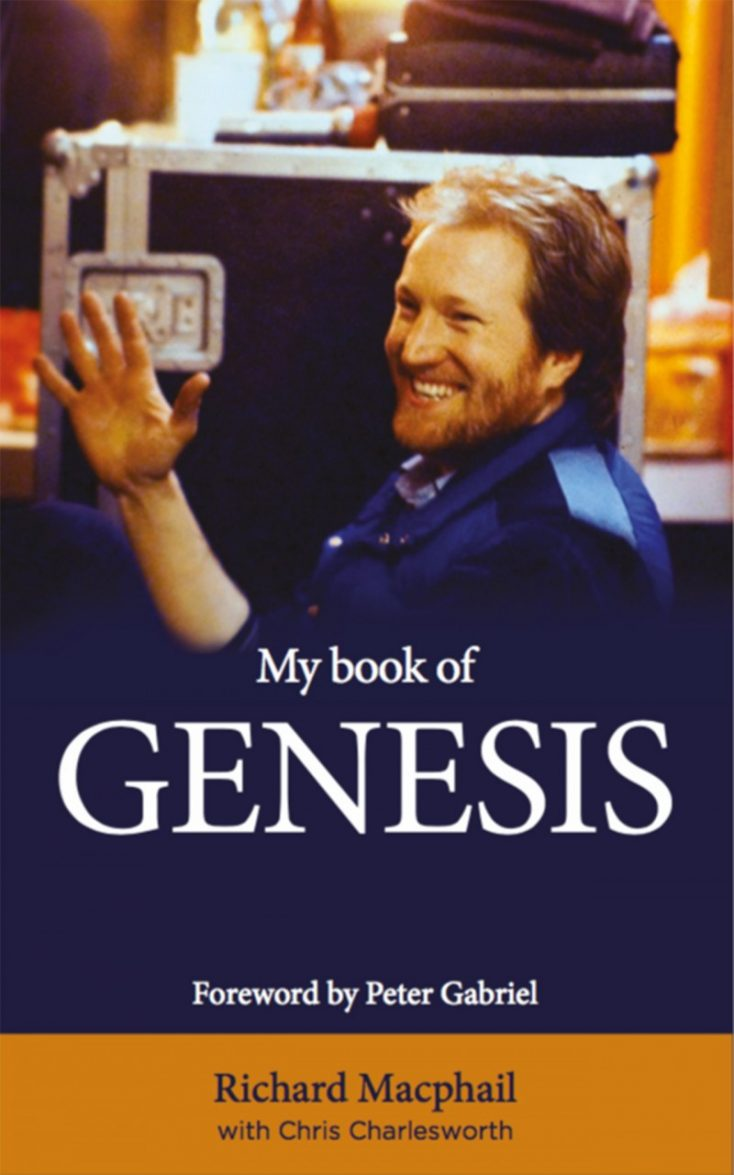 PETER GABRIEL ESCRIBE SOBRE UN NUEVO LIBRO DE GENESIS