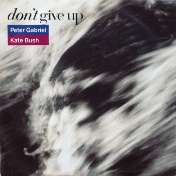 Don't Give Up 7″ single cover