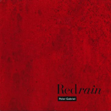red rain 7″ single front