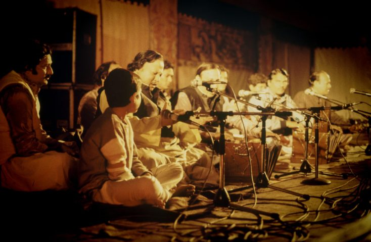 Nusrat Fateh Ali Khan & Party - Live at WOMAD 1985